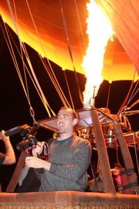 Videographer Callum Hanlon ready to fly