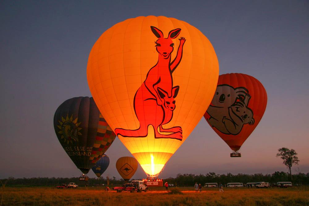 Ballooning with Hot Air Atherton Tablelands