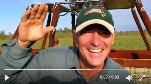 Hot Air Balloon Cairns Pilot Frank